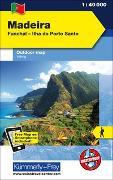 Cover-Bild zu Madeira Outdoorkarte Portugal 1:40 000. 1:40'000 von Hallwag Kümmerly+Frey AG (Hrsg.)