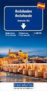 Cover-Bild zu Andalusien, Costa del Sol Regionalkarte 1:200 000. 1:200'000 von Hallwag Kümmerly+Frey AG (Hrsg.)