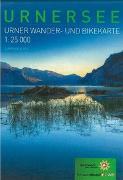 Cover-Bild zu Wander- und Bikekarte Urnersee von Kanton Uri (Hrsg.)
