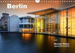 Cover-Bild zu Berlin (Wandkalender 2022 DIN A4 quer) von Weber, Michael