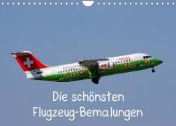 Cover-Bild zu Die schönsten Flugzeug-Bemalungen (Wandkalender 2022 DIN A4 quer) von Heilscher, Thomas