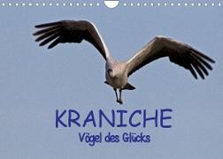 Cover-Bild zu Kraniche - Vögel des Glücks (Wandkalender 2022 DIN A4 quer) von Weise, Ralf
