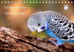 Cover-Bild zu Wellensittiche - Naturkalender (Tischkalender 2022 DIN A5 quer) von Bergmann, Björn