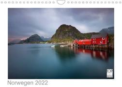 Cover-Bild zu Norwegen 2022 - Land im Norden (Wandkalender 2022 DIN A4 quer) von Kalender365. Com