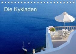 Cover-Bild zu Die Kykladen (Tischkalender 2022 DIN A5 quer) von Kruse, Joana