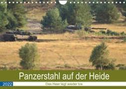 Cover-Bild zu Panzerstahl auf der Heide - Das Heer legt wieder los (Wandkalender 2022 DIN A4 quer) von Media, Hoschie