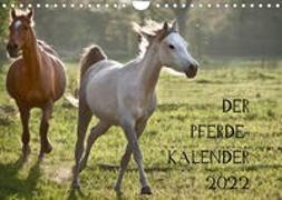 Cover-Bild zu Pferdekalender (Wandkalender 2022 DIN A4 quer) von Zitzler, Hans