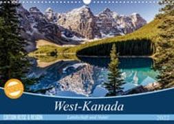 Cover-Bild zu West-Kanada (Wandkalender 2022 DIN A3 quer) von Gerber, Thomas