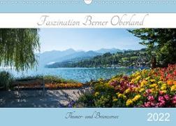 Cover-Bild zu Faszination Berner Oberland 2022 - Thuner- und Brienzersee (Wandkalender 2022 DIN A3 quer) von SusaZoom