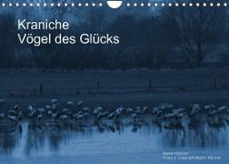 Cover-Bild zu Kraniche (Wandkalender 2022 DIN A4 quer) von Wenner, Martin