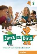 Cover-Bild zu Jana und Dino 2 - Arbeitsbuch von Priesteroth, Michael