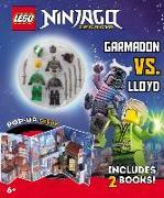 Cover-Bild zu Ninja Mission: Garmadon vs. Lloyd [With 2 Lego Minifigures] von Lego Group (Gespielt)