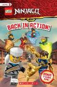Cover-Bild zu Lego Ninjago: Back in Action! [With Sheet of Stickers] von West, Tracey