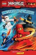Cover-Bild zu Lego Ninjago: Maestros de Spinjitzu (Lector No. 2) von West, Tracey