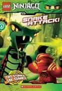 Cover-Bild zu Snake Attack! (LEGO Ninjago: Chapter Book) von West, Tracey