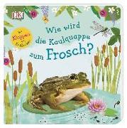 Cover-Bild zu Wie wird die Kaulquappe zum Frosch? von Krabbe, Wiebke (Übers.)