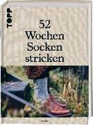 Cover-Bild zu 52 Wochen Socken stricken von Laine