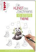 Cover-Bild zu Die Kunst des Zeichnens 10 Steps - Tiere von Kilgour, Heather
