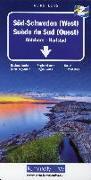 Cover-Bild zu Süd-Schweden (West) Regionalkarte Schweden Blatt 2. 1:250'000 von Hallwag Kümmerly+Frey AG (Hrsg.)