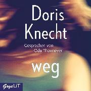 Cover-Bild zu weg (Audio Download) von Knecht, Doris