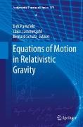 Cover-Bild zu Equations of Motion in Relativistic Gravity von Puetzfeld, Dirk (Hrsg.)