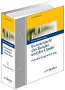 Cover-Bild zu Beamtenrecht des Bundes und der Länder von Brockhaus, Robert