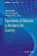 Cover-Bild zu Equations of Motion in Relativistic Gravity (eBook) von Schutz, Bernard (Hrsg.)