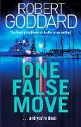 Cover-Bild zu One False Move (eBook) von Goddard, Robert