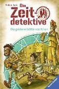 Cover-Bild zu Die Zeitdetektive, Band 40: Die goldene Göttin von Athen von Lenk, Fabian