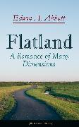 Cover-Bild zu Flatland: A Romance of Many Dimensions (Illustrated Edition) (eBook) von Abbott, Edwin A.