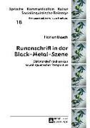 Cover-Bild zu Runenschrift in der Black-Metal-Szene (eBook) von Busch, Florian
