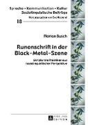 Cover-Bild zu Runenschrift in der Black-Metal-Szene von Busch, Florian