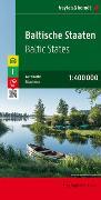 Cover-Bild zu Baltische Staaten, Autokarte 1:400.000. 1:400'000 von Freytag-Berndt und Artaria KG (Hrsg.)