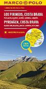 Cover-Bild zu MARCO POLO Karte Spanien Pyrenäen, Costa Brava 1:300 000. 1:300'000