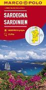 Cover-Bild zu MARCO POLO Karte Italien Blatt 15 Sardinien 1:200 000. 1:200'000