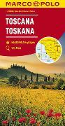 Cover-Bild zu MARCO POLO Karte Italien Blatt 7 Toskana 1:200 000. 1:200'000