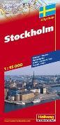 Cover-Bild zu Stockholm Stadtplan 1:15 000. 1:15'000 von Hallwag Kümmerly+Frey AG (Hrsg.)