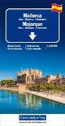 Cover-Bild zu Mallorca, Ibiza, Menorca, Formentera Regionalkarte 1:150 000. 1:150'000 von Hallwag Kümmerly+Frey AG (Hrsg.)