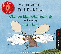 Cover-Bild zu Olaf, der Elch, Olaf taucht ab, Olaf hebt ab von Kriegel, Volker