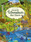 Cover-Bild zu Das große Wimmelbuch der Tiere von Loewe Wimmelbücher (Hrsg.)