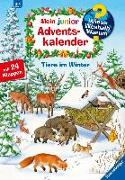 Cover-Bild zu Adventskalender Tiere im Winter von von Hacht, Esther