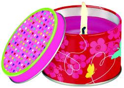 Cover-Bild zu Schmetterlinge im Bauch - Kerze