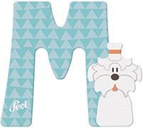 Cover-Bild zu Holzbuchstaben M - Malteser 10cm