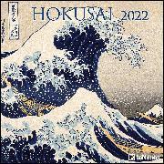 Cover-Bild zu Hokusai 2022 - Wand-Kalender - Broschüren-Kalender - 30x30 - 30x60 geöffnet - Kunst-Kalender von Hokusai, Katsushika