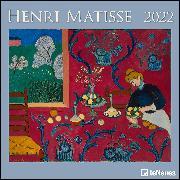 Cover-Bild zu Henri Matisse 2022 - Wand-Kalender - Broschüren-Kalender - 30x30 - 30x60 geöffnet - Kunst-Kalender von Matisse, Henri