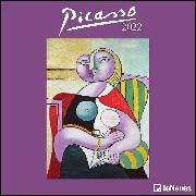 Cover-Bild zu Picasso 2022 - Wand-Kalender - Broschüren-Kalender - 30x30 - 30x60 geöffnet - Kunst-Kalender von Picasso, Pablo