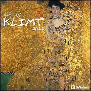 Cover-Bild zu Gustav Klimt 2022 - Wand-Kalender - Broschüren-Kalender - 30x30 - 30x60 geöffnet - Kunst-Kalender von Klimt, Gustav