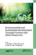 Cover-Bild zu Environmental and Sustainable Development Through Forestry and Other Resources (eBook) von Banerjee, Arnab (Hrsg.)