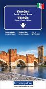 Cover-Bild zu Venetien Regionalkarte Italien Nr. 4. 1:200'000 von Hallwag Kümmerly+Frey AG (Hrsg.)