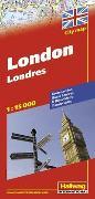 Cover-Bild zu London Stadtplan 1:15 000. 1:15'000 von Hallwag Kümmerly+Frey AG (Hrsg.)